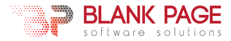Blank Page Software Solutions Logo